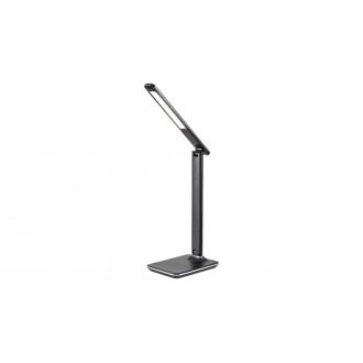 RABALUX 5774 | Tobias-RA Rabalux stolové svietidlo 38,5cm dotykový prepínač s reguláciou svetla regulovateľná intenzita svetla, nastaviteľná farebná teplota, otočné prvky 1x LED 350lm 2700 <-> 5500K biela