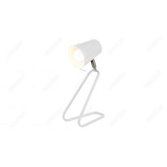 RABALUX 5777 | Olaf-RA Rabalux stolové svietidlo 33cm prepínač na vedení otočné prvky 1x E14 biela