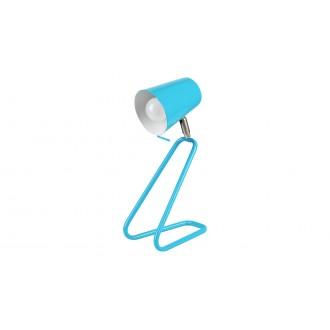 RABALUX 5778 | Olaf-RA Rabalux stolové svietidlo 33cm prepínač na vedení otočné prvky 1x E14 modrá