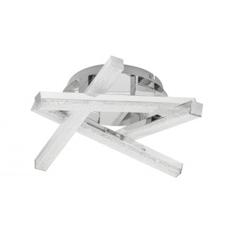 RABALUX 5789 | Chelsea-RA Rabalux stropné svietidlo 1x LED 1280lm 3000K chróm, krištáľ
