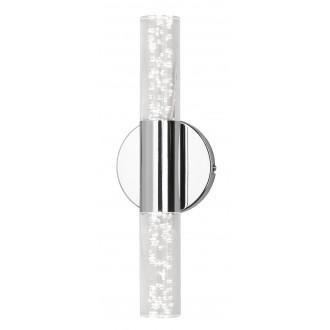 RABALUX 5798   Aphrodite Rabalux rameno stenové svietidlo 2x LED 760lm 3000K chróm, priesvitné