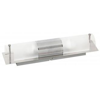 RABALUX 5808 | Periodic Rabalux stenové, stropné svietidlo 2x E14 chróm, priesvitné, biela