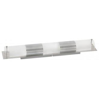 RABALUX 5809 | Periodic Rabalux stenové, stropné svietidlo 3x E14 chróm, priesvitné, biela