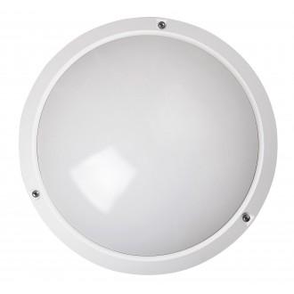 RABALUX 5810 | Lentil Rabalux stenové, stropné svietidlo 1x E27 IP54 biela
