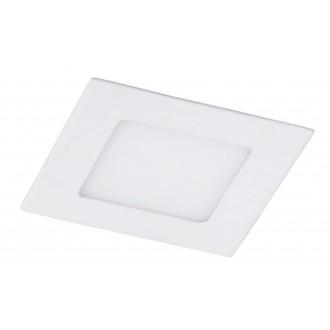 RABALUX 5877 | Miriam Rabalux zabudovateľné LED panel štvorec 145x145mm 1x LED 850lm 4000K biela