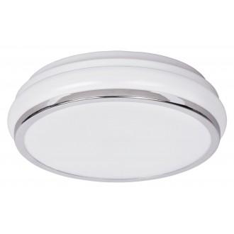 RABALUX 5886 | Christen Rabalux stropné svietidlo 1x LED 900lm 3500K IP44 chróm, biela