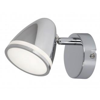 RABALUX 5931 | MartinR Rabalux spot svietidlo otočné prvky 1x LED 360lm 4000K chróm, biela