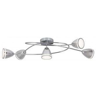 RABALUX 5936 | MartinR Rabalux spot svietidlo 5x LED 1800lm 4000K chróm, biela