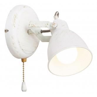 RABALUX 5966 | Vivienne Rabalux spot svietidlo prepínač na ťah otočné prvky 1x E14 antická biela