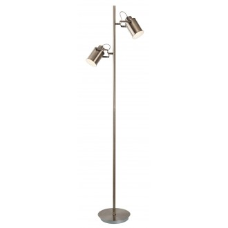 RABALUX 5985 | Peter Rabalux stojaté svietidlo 152,5cm prepínač na vedení otočné prvky 2x E27 antická bronzováová