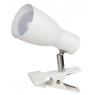 RABALUX 6026 | Rabalux spot svietidlo prepínač na vedení otočné prvky 1x E27 biela