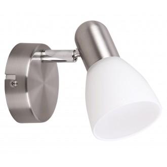 RABALUX 6301 | Soma2 Rabalux spot svietidlo otočné prvky 1x E14 satén chróm, biela
