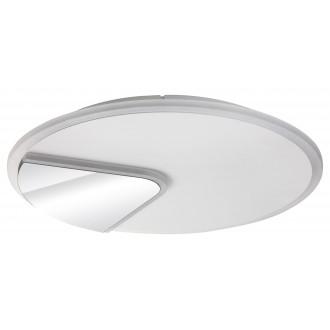 RABALUX 6329 | Boswell Rabalux stropné svietidlo kruhový 1x LED 2500lm 4000K biela, chróm, zrkalový