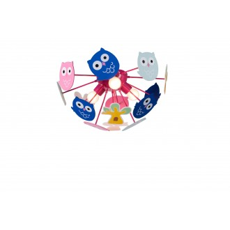 RABALUX 6389 | Birdy Rabalux stropné svietidlo 3x E14 viacferebné