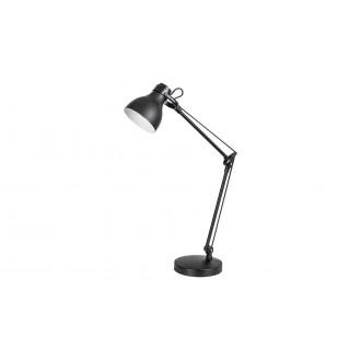 RABALUX 6408 | Carter-RA Rabalux stolové svietidlo 58cm prepínač otočné prvky 1x E14 matná čierna