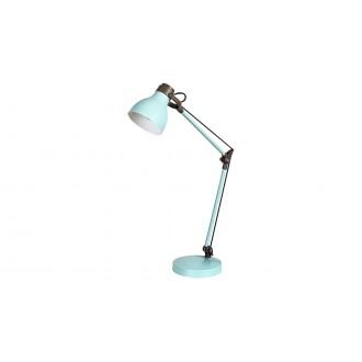 RABALUX 6409 | Carter-RA Rabalux stolové svietidlo 58cm prepínač otočné prvky 1x E14 mäta, hnedá