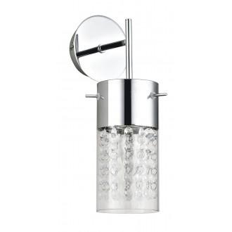 RABALUX 6449   Waterfall Rabalux rameno stenové svietidlo 1x E14 chróm, priesvitná, priesvitné