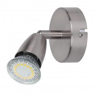 RABALUX 6525 | Norman-LED Rabalux spot svietidlo otočné prvky 1x GU10 340lm 3000K chrom, matné