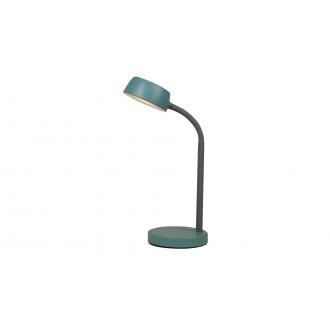 RABALUX 6780 | Berry-RA Rabalux stolové svietidlo 35cm prepínač 1x LED 350lm 4000K modrá, sivé