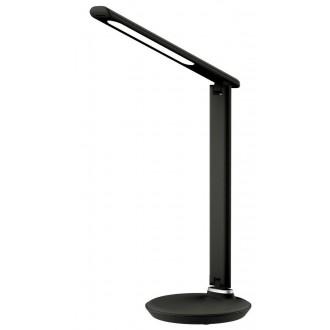 RABALUX 6980   Osias Rabalux stolové svietidlo 39,1cm dotykový prepínač s reguláciou svetla regulovateľná intenzita svetla, nastaviteľná farebná teplota, otočné prvky 1x LED 400lm 2700 <-> 6500K čierna