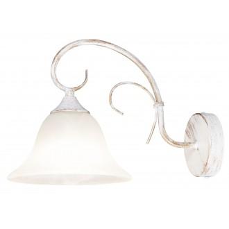 RABALUX 7186 | Katherine Rabalux stenové svietidlo 1x E27 antická biela, alabaster