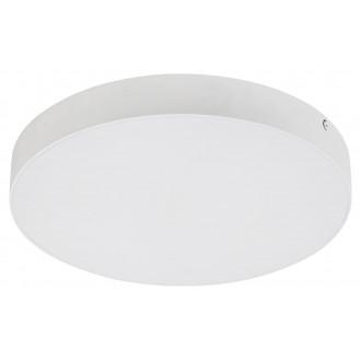RABALUX 7893 | Tartu Rabalux stropné svietidlo kruhový nastaviteľná farebná teplota 1x LED 1800lm 2800 - 4000 - 6000K IP44 matný biely, biela