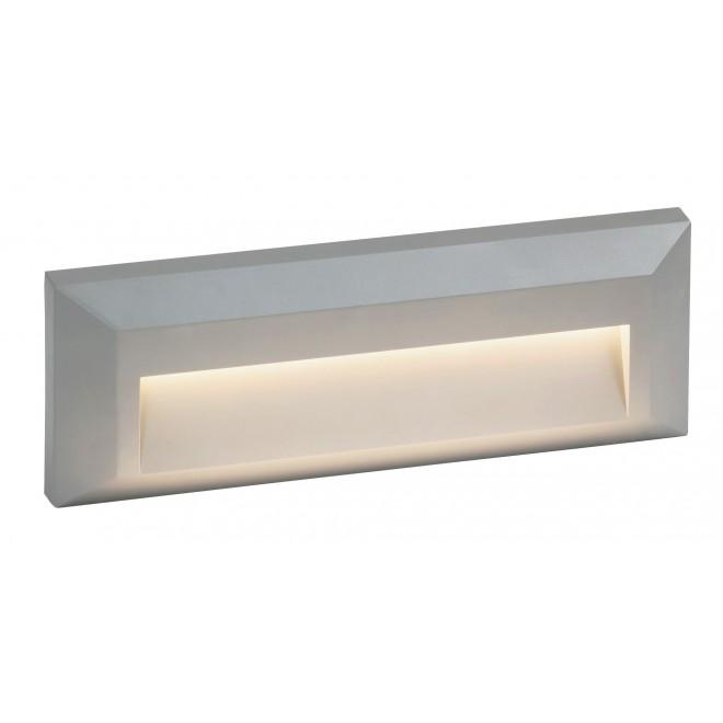 RABALUX 8011 | Pueblo Rabalux stenové svietidlo 1x LED 103lm 4000K IP65 UV sivé