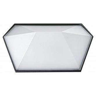 RABALUX 8114 | Salvador_RA Rabalux stenové svietidlo 1x LED 543lm 4000K IP65 UV čierna, biela