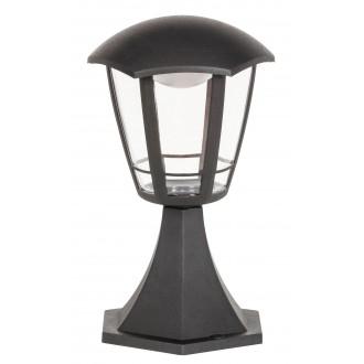 RABALUX 8127 | Sorrento Rabalux stojaté svietidlo 30cm 1x LED 500lm 3000K IP44 UV matná čierna, priesvitné