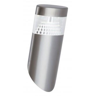 RABALUX 8141 | Detroit Rabalux stenové svietidlo UV vzdorný plast 1x LED 450lm 4000K IP44 UV zušľachtená oceľ, nehrdzavejúca oceľ