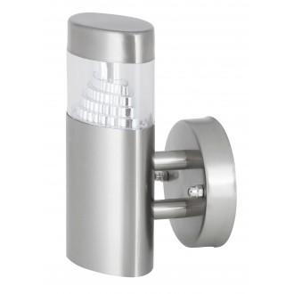 RABALUX 8142   Detroit Rabalux rameno stenové svietidlo 1x LED 450lm 4000K IP44 UV zušľachtená oceľ, nehrdzavejúca oceľ
