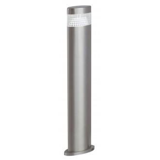 RABALUX 8143 | Detroit Rabalux stojaté svietidlo 50cm UV vzdorný plast 1x LED 450lm 4000K IP44 UV zušľachtená oceľ, nehrdzavejúca oceľ