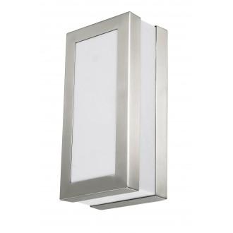 RABALUX 8170 | Stuttgart Rabalux stenové, stropné svietidlo 1x E27 IP44 UV zušľachtená oceľ, nehrdzavejúca oceľ, biela