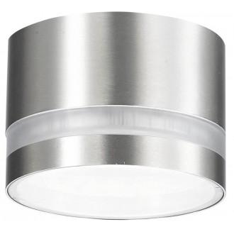 RABALUX 8219 | FargoR Rabalux stropné svietidlo 1x GX53 378lm 2700K IP44 chróm, biela