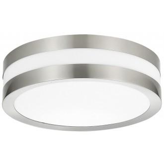 RABALUX 8220 | Stuttgart Rabalux stropné svietidlo 2x E27 IP44 UV zušľachtená oceľ, nehrdzavejúca oceľ, biela