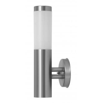 RABALUX 8262 | Inox Rabalux rameno stenové svietidlo 1x E27 IP44 UV zušľachtená oceľ, nehrdzavejúca oceľ, biela