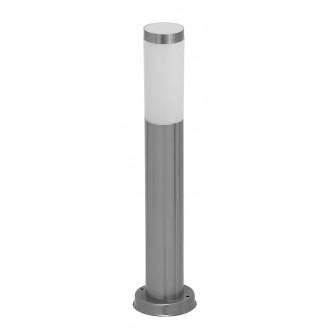 RABALUX 8263 | Inox Rabalux stojaté svietidlo 45cm 1x E27 IP44 UV zušľachtená oceľ, nehrdzavejúca oceľ, biela