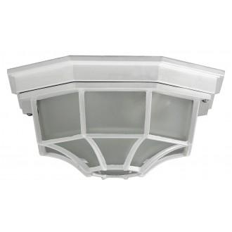 RABALUX 8336 | Milano1 Rabalux stropné svietidlo 1x E27 IP43 biela, opál