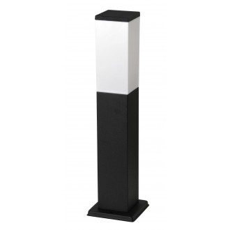 RABALUX 8338 | Bonn Rabalux stojaté svietidlo 50cm 1x E27 IP44 UV matná čierna, biela