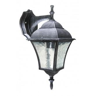 RABALUX 8396 | Toscana Rabalux rameno stenové svietidlo 1x E27 IP43 starožitná strieborná, priesvitná