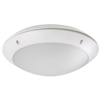 RABALUX 8555 | Lentil-LED Rabalux stenové, stropné svietidlo pohybový senzor 1x LED 720lm 4000K IP54 biela
