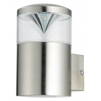 RABALUX 8559 | CharlotteR Rabalux rameno stenové svietidlo 1x GU10 340lm 3000K IP44 UV zušľachtená oceľ, nehrdzavejúca oceľ