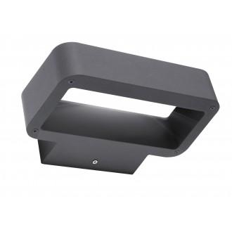 RABALUX 8564 | Tokio Rabalux rameno stenové svietidlo 1x LED 480lm 3000K IP54 tmavošedá