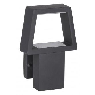 RABALUX 8667 | ArizonaR Rabalux stenové svietidlo 1x LED 900lm 3000K IP44 antracit