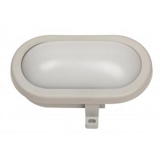 RABALUX 8695 | Mumbai Rabalux stenové svietidlo 1x LED 800lm 4000K IP44 UV sivé, biela