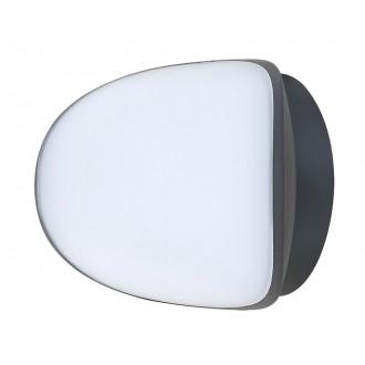 RABALUX 8768 | Erfurt Rabalux stenové svietidlo 1x LED 1100lm 4000K IP54 UV antracit, biela