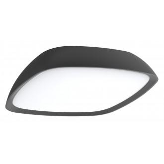 RABALUX 8797 | AustinR Rabalux stenové, stropné svietidlo 1x LED 2000lm 4000K IP65 antracitová sivá, biela