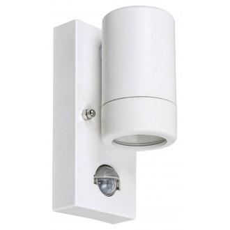 RABALUX 8838 | Medina-RA Rabalux rameno stenové svietidlo pohybový senzor 1x GU10 IP44 UV matný biely