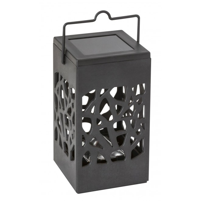 RABALUX 8948 | Mora-RA Rabalux dekor svietidlo slnečné kolektorové / solárne 1x LED 1,2lm 3000K IP23 čierna