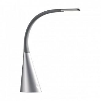 REDO 01-1038 | Alias Redo stolové svietidlo 52cm prepínač USB prijímač 1x LED 330lm 3000K čierna, strieborný